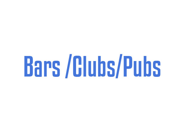 Bars _Clubs_Pubs